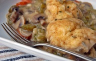 vegetarian chicken and dumplings