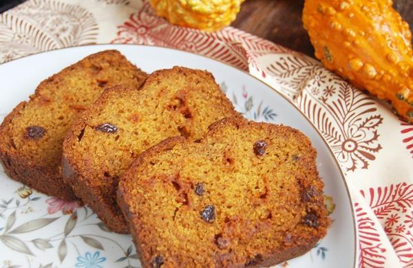 pumpkin raisin cinnamon bread 3