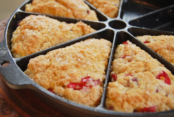 cranberry orange scones b