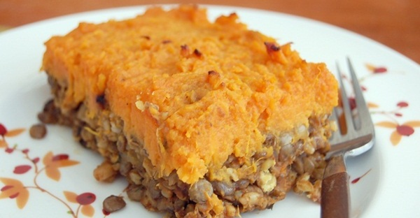 Lentil, Mushroom & Sweet Potato Shepherd's Pie Recipes — Dishmaps