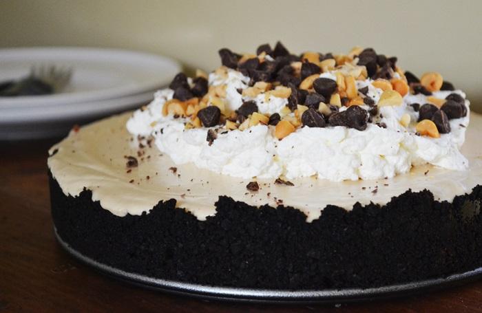 No-Bake Peanut Butter Pie | The Apron Archives