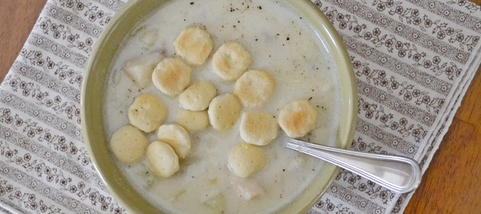 new england fish chowder