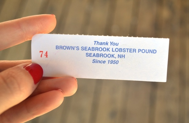 A Sunday drive to the Salisbury, MA/Seabrook, NH beach region warranted a stop at Brown's Lobster Pound.