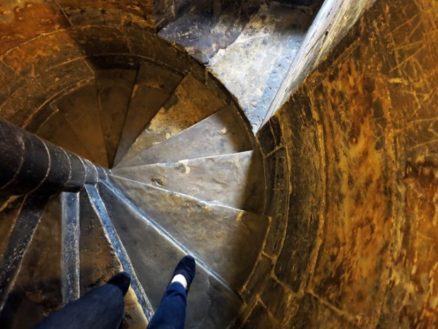 prague powder tower stairs