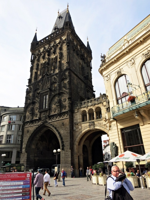 prague powder tower