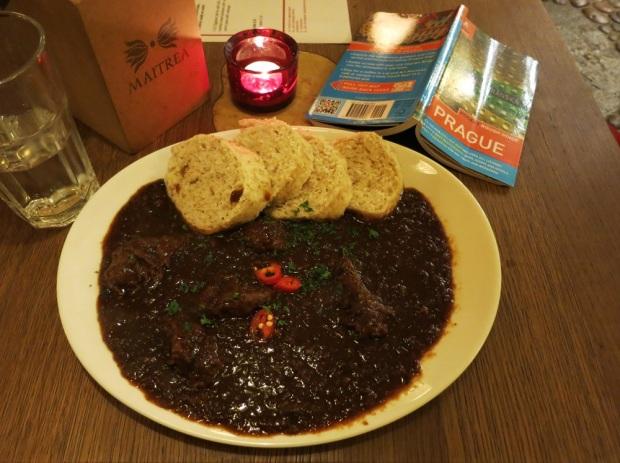 prague vegetarian goulash