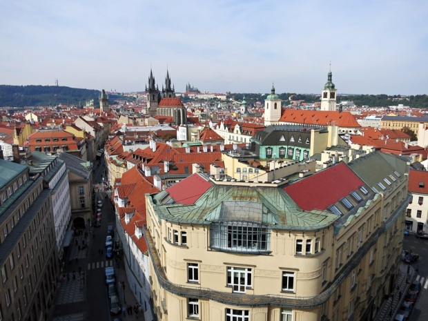 prague view powder tower