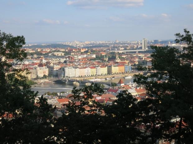 prague view petrin hill