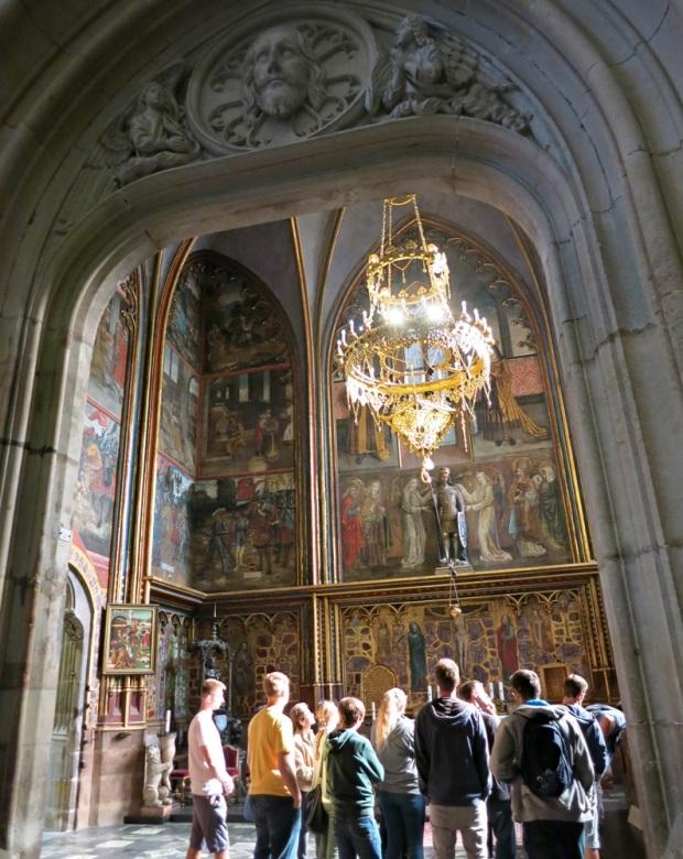 wenceslas chapel st vitus prague