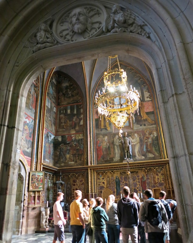 wenceslas chapel st vitus prague