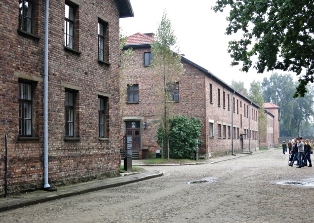 Cell blocks at Auschwitz I