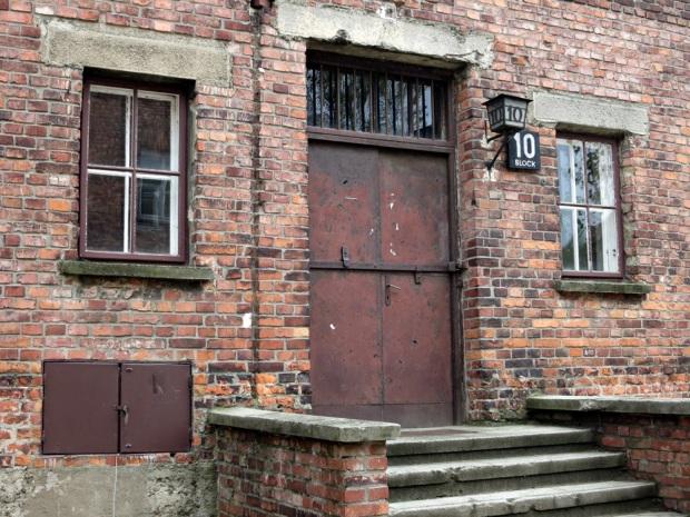 Cell Block 10 at Auschwitz I.