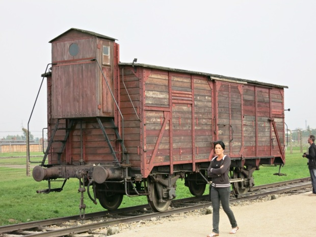auschwitz train car