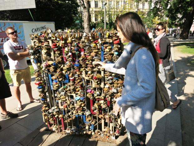 budapest love locks