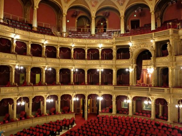 budapest opera house inside