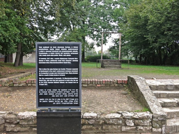 Rudolf Höss gallows at Auschwitz I.