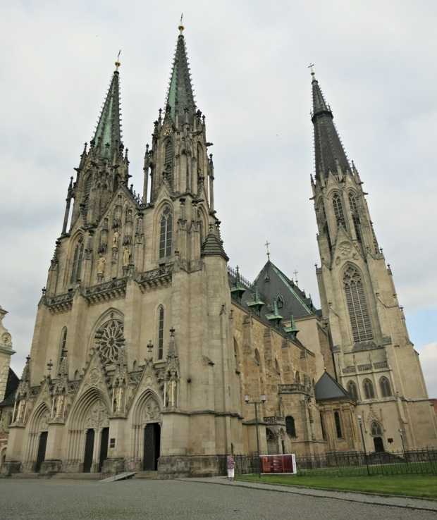 St Wenceslas Cathedral in Olomouc.