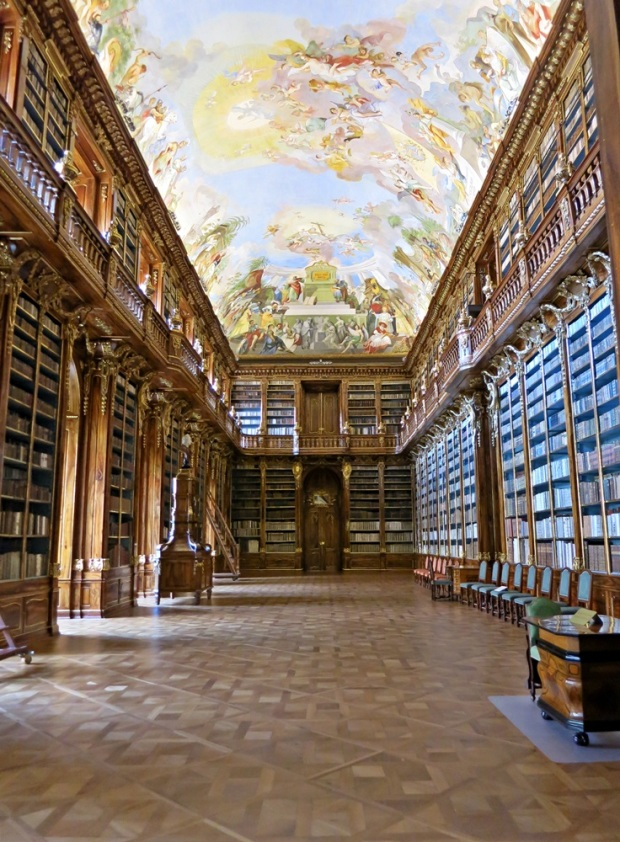 The Philosophical Hall at Strahov Monastery.