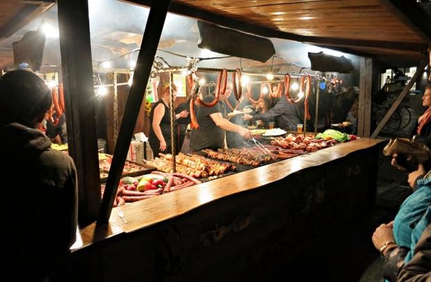 Krakow meat market