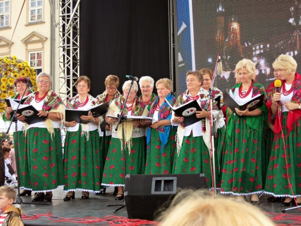 A Polish folk music performance.
