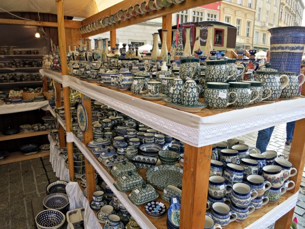 polish pottery krakow