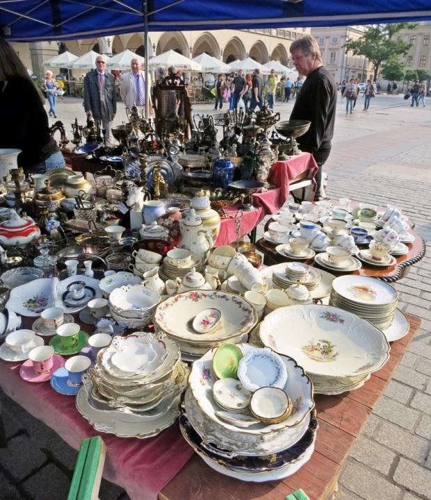 krakow antiques stall