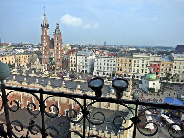 krakow city view
