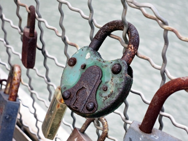 Love locks. Ugh.