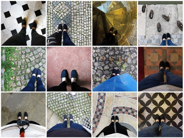 From cobblestones to marble floors...I clocked a lot of walking miles on this trip!
