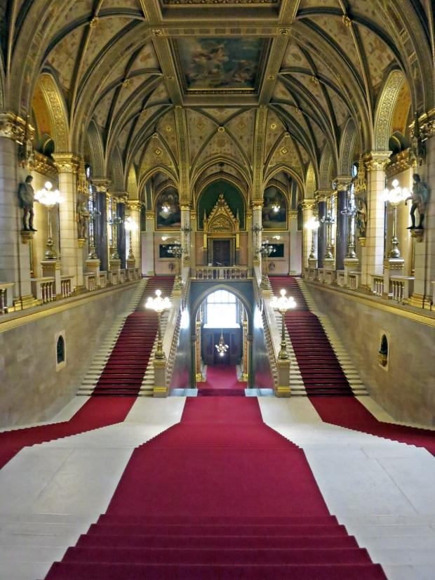 inside budapest parliament