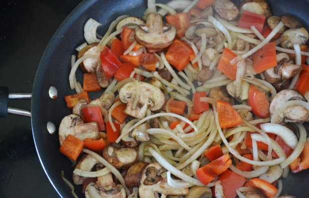 Sauteed mushrooms, peppers, and onions are my holy trinity.