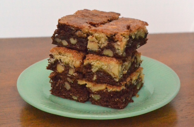 Mostly one-layer brownies.