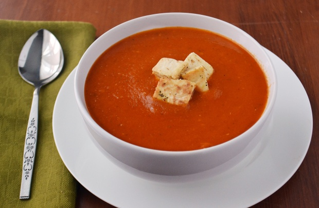 Spicy Roasted Tomato Soup