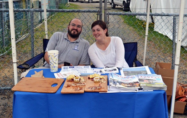 Ryan and Kaitlin of Brimfield Flea Finder.