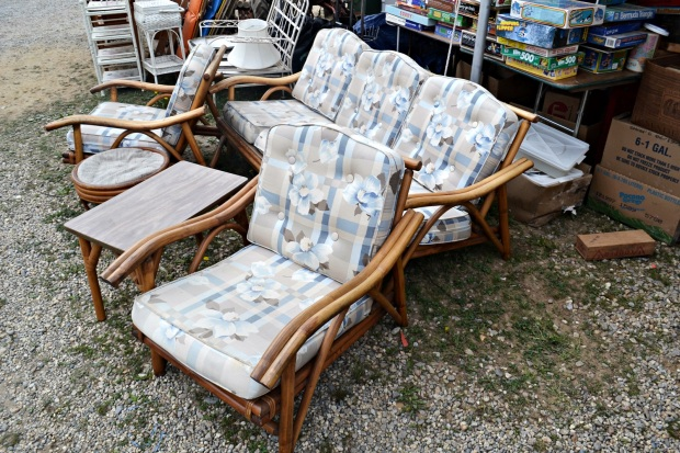 Brimfield Antiques Show | Golden Girls Couch