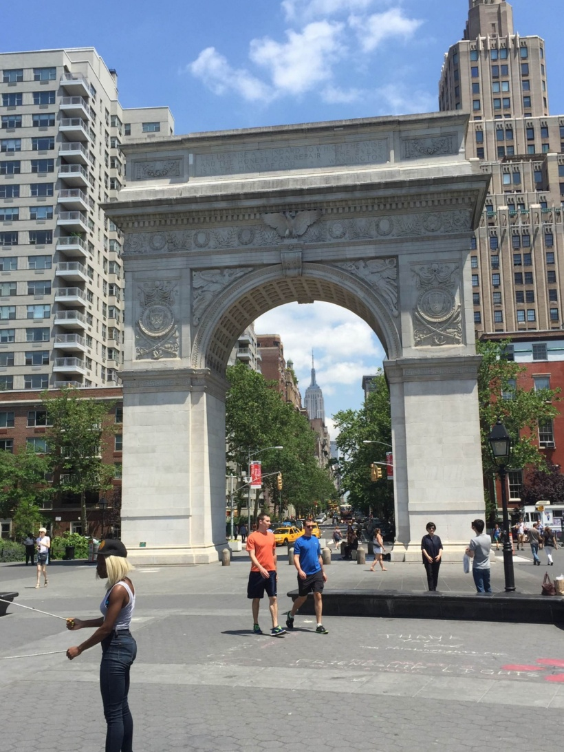 Washington Square Park Arch NYC