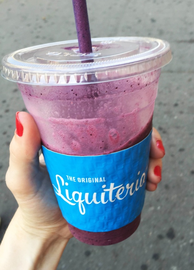 Berry Powerful smoothie from Liquiteria.