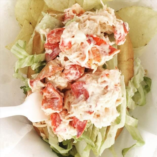 Castine Variety lobster roll.