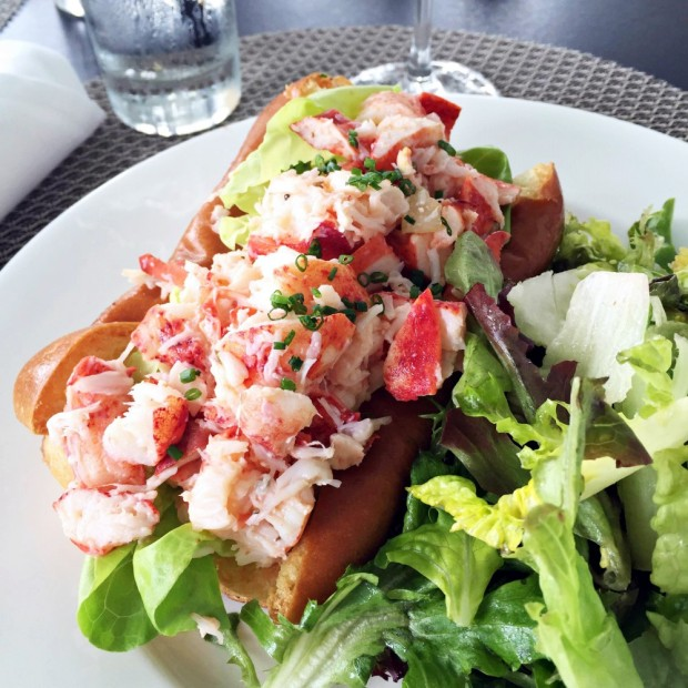 The lobster roll at the Chatham Bars Inn on Cape Cod.
