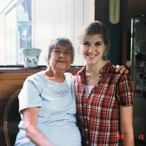 One of my favorites. Me and Nana in 1999.